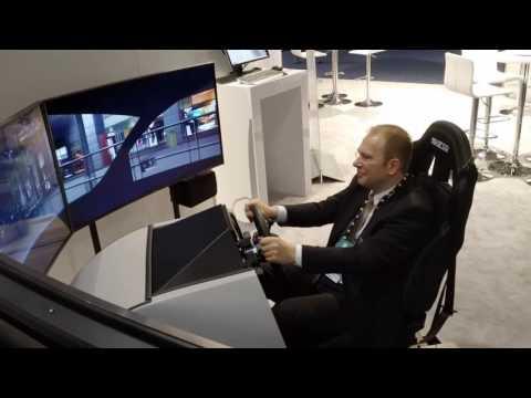 Rheinmetall Defence Driving Simulator as seen at I/ITSEC 2016