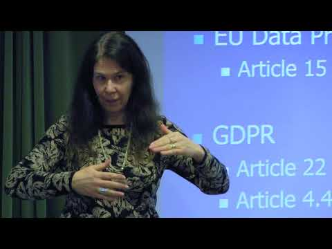 Automated judicial decisions and privacy with Cecilia Magnusson Sjöberg