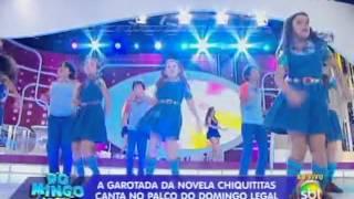 Domingo Legal (01/12/13) - Chiquititas agitam a plateia com a música Remexe