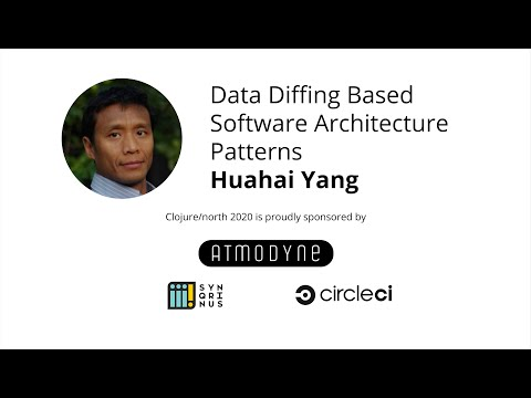 Data Diffing Based Software Architecture Patterns