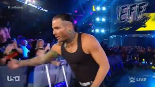 Jeff Hardy celebrates 20th His Anniversary entrance with no more words