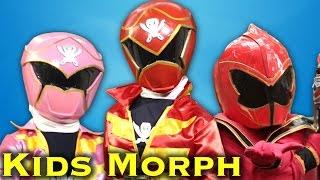 MORPH: Power Ranger Kids (Part Two)
