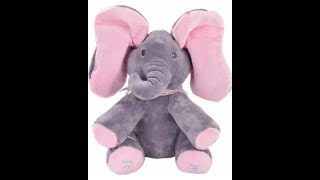 Peek A Boo Elephant Toy - Singing : MP TubeCast