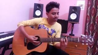 Mere Mahboob Qayamat hogi   Guitar Cover By Amaan Ali