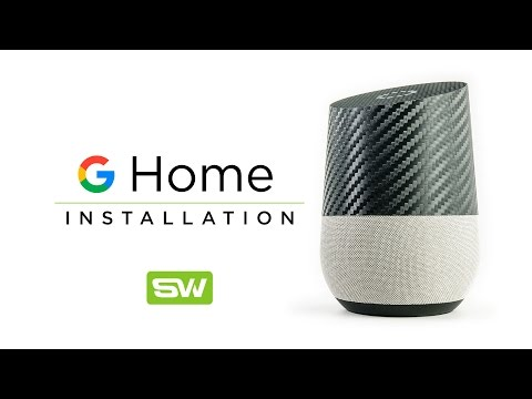 Slickwraps Google Home Installation Video
