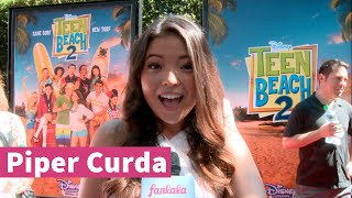"Piper Curda Talks ""Teen Beach 2"""