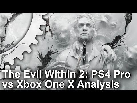 [4K] The Evil Within 2: Xbox One X vs PS4 Pro Graphics Comparison + Frame-Rate test
