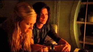 "Bellarke Scenes (20) ""bellamy knew"" [THE 100 S01E04]"