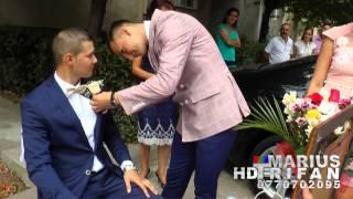 02 Gianina si Dani Nitu (nunta 30 August 2014) Adrian de la Severin - Barbieritul si floarea mirelui