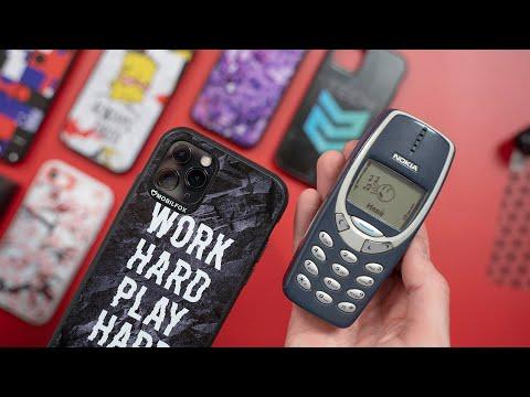Melyik törik? A Nokia 3310, a beton vagy az iPhone 11 Pro?
