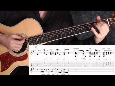 Comment jouer Je t'aimais, je t'aime et je t'aimerai de Francis Cabrel à la guitare
