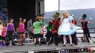 "Entire Studio9 Student Body Performs ""Alice"" at Fat Cat Festival"