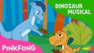 Feeding Baby Dinosaur   Dinosaur Musical   Pinkfong Songs for Children