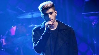 Zayn Malik Reveals His Album Cover and New Soulful Ballad During Solo TV Debut