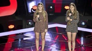 "Ema e Sara Correia - ""Stay with me"" | Provas Cegas | The Voice Portugal | Season 3"