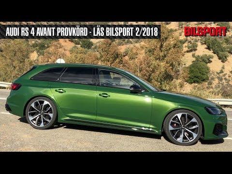 Audi RS 4 Avant i Bilsport 2/2018