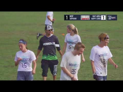 Video Thumbnail: 2018 U.S. Open Club Championships, YCC U-20 Mixed Pool Play: Minneapolis Superior vs. Bay Area Happy Cows