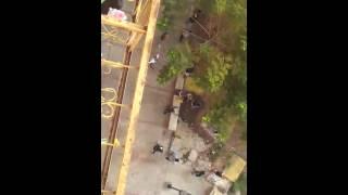 Opositores Violentos en las Torres del Saladillo