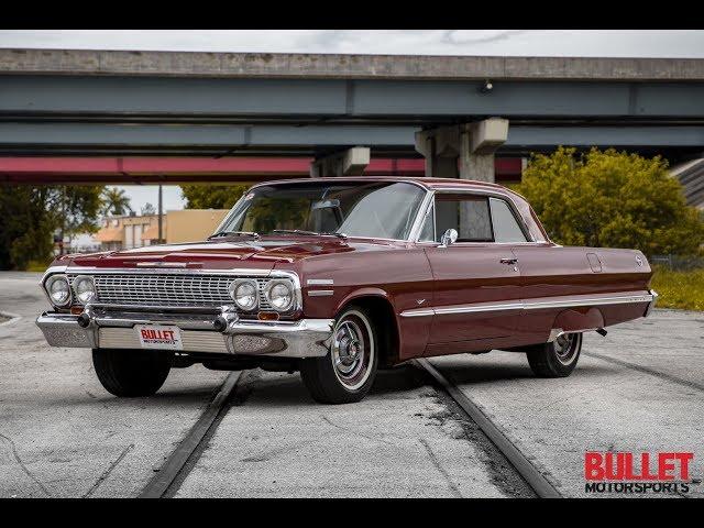 1963 Chevrolet Impala Cruiser - [4k] Bullet Motorsports Inc.