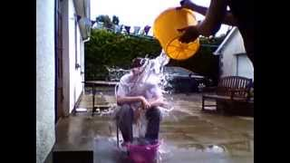 Michael Sinclair doing the water challenge!!