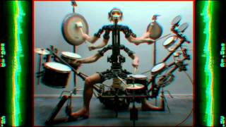 Aphex Twin & Chris Cunningham Monkey Drummer Music Video [HQ - 1080p]