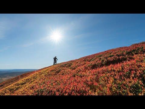 Høsten er perfekt for stisykling i Trysil