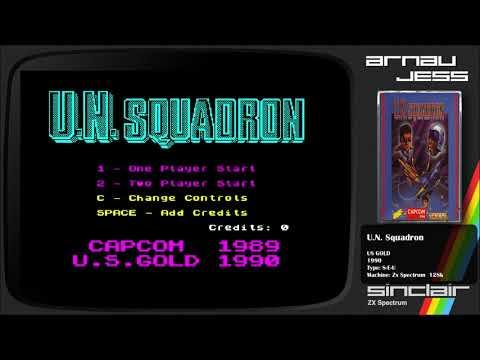 U.N. Squadron Zx Spectrum