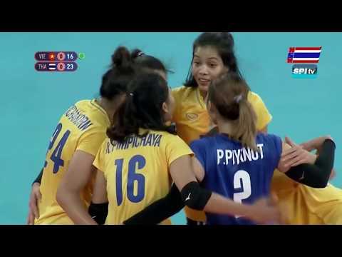 ไฮไลท์ วอลเลย์บอลหญิง ซีเกมส์(เซตที่ 1) ไทย v เวียดนาม - 7 ธ.ค. 2019