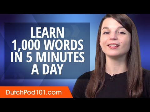 How to write 1,000 Dutch Words in a 5 Minutes a Day photo