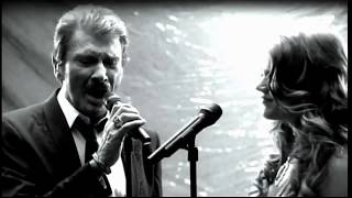 Johnny Hallyday & Joss Stone   Unchained Melody Clip 2008