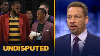 Chris Broussard on Lakers' season outlook with LeBron and Rondo returning   NBA   UNDISPUTED width=