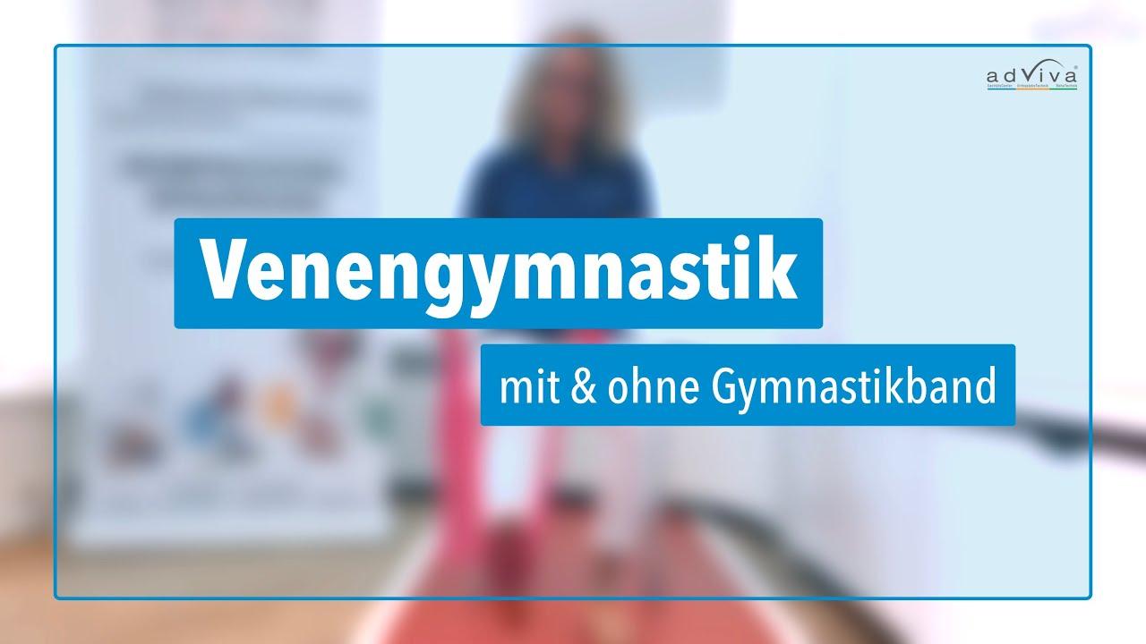 Venengymnastik für schöne und gesunde Beine