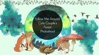 Follow Me Around | Kawaii Forest Photoshoot