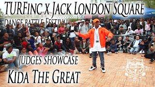 Kida The Great Judges Showcase   TURFinc x Jack London Square Dance Battle Festival