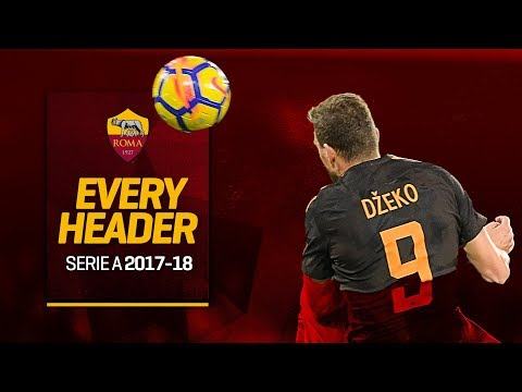 Every Header Roma Scored in Serie A 2017-18