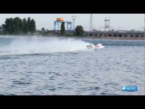 Powerboat Competition Formula F1H20 Carves Ukrainian Waters at the Kyiv Sea for the First Time