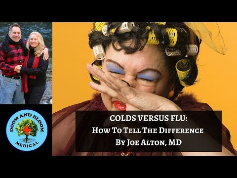 Cold versus Flu: How To Tell the Difference
