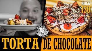 Aula 130 - Torta de chocolate (torta americana de chocolate) / Cansei de Ser Chef