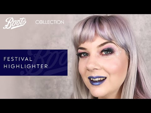 boots.com & Boots Voucher Code video: Festival make-up: Festival highlighter with Collection