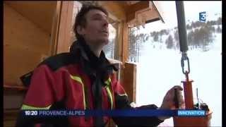 Val d'Allos, déclenchement préventif des avalanches / nouveau procédé (TDR)