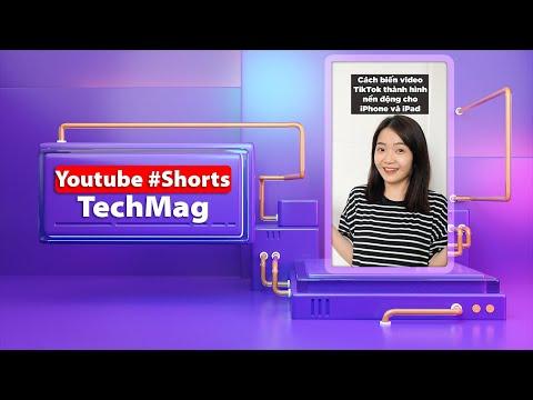 Cách biến video TikTok thành hình động siêu đẹp cho iPhone và iPad các bạn nên thử #shorts