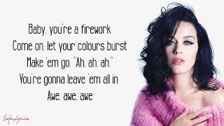 Firework - Katy Perry (Lyrics)
