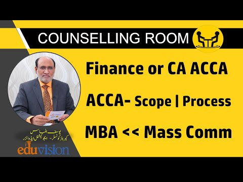 Q & A Session | Finance or CA ACCA |  Scope of ACCA | MBA after Mass Communication | Yousuf Almas