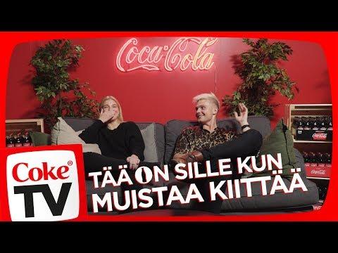BENJAMIN JA ILONA KIITOSPÄIVÄN TUNNELMISSA!  | #CokeTVSuomi