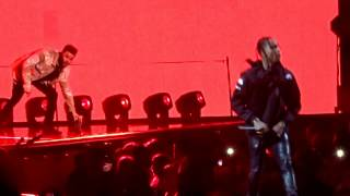 The Weeknd Feat Travis Scott - Antidote (Starboy : Legend Of The Fall Tour) @ Paris Bercy