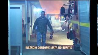 Bombeiros registram incêndios em lotes vagos em BH e Região Metropolitana