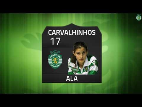 16/17 Resumo/Golos 2ª Fase Jornada 3 - Campeonato Nacional Feminino - Sporting CP 5 x 0 Gondomar