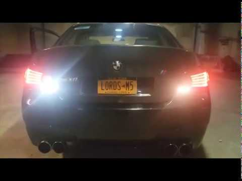 Installation of WeissLicht LED Reverse Indicator Bulbs - 2009 E60 M5