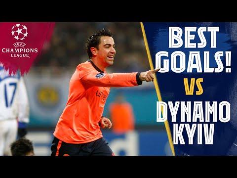 BEST GOALS vs DYNAMO KYIV ⚽