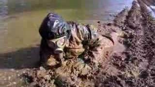 Rubber in mud